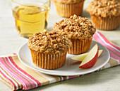 Apfel-Gewürz-Muffins