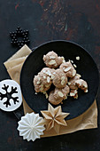 Gluten-free almond biscuits for Christmas