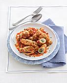 Italian pork roulade