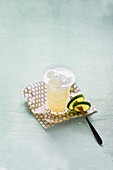 Fuji Sour with coconut water (alcohol-free)