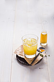 Turmeric Tonic with ginger and chilli (alcohol-free)