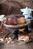 Kiev hazelnut meringue cake