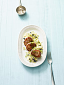 Pork fillet with Chinese cabbage salad (no carb)
