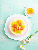 Frozen citrus delicious