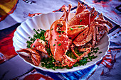 Lobster with chives