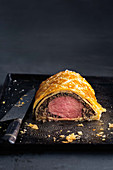 Filet Wellington, angeschnitten