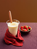Indulgent amaretto and white chocolate eggnog