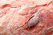 Freezer burned meat