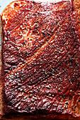 Röstkruste close up