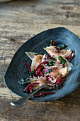 South Tyrolean beetroot ravioli