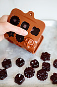 Elderberry Gummies, homemade with elderberry cordial