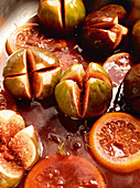 Oven-roasted figs