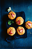 Erdbeer-Ingwer-Muffins