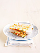 Cheese and Tomatoes Quesadillas