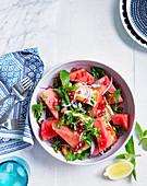 Wassermelonen-Haloumi-Salat (Griechenland)