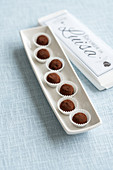 Chocolate orange truffles