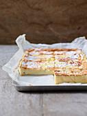 Lattaiolo (baked milk cream, Italy)