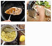 How to make tandoori chicken with cauliflower couscous