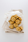 Banana and lime biscuits