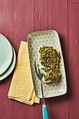 Kabeljau mit Cashew-Pesto-Haube