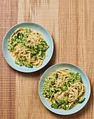 Chilli and broccoli spaghetti