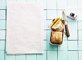 Turkey piccata panino to take away