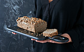 Gluten-free and sugar-free buckwheat bread