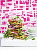 Zucchini-Halloumi-Fitters