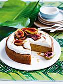 Feigenkuchen mit Zabaione