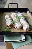 Yarrow baguettes
