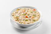 Clam Chowder (clam soup, USA)