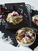 Vegane Miso-Pilz-Lasagne