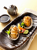 Steamed Abalone (Japan)
