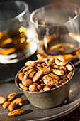 Whisky and nuts