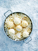 White Chocolate Coconut Balls