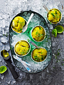 Green Chilli Mango and Melon Sorbet