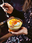 Orange trifle