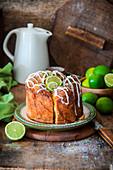 Lime yeast cake