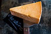 A piece of Cheshire Appleby cheese