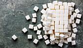 Refined sugar cube