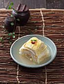 Baek Kimchi (Korean white cabbage kimchi)