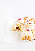 Easter pull apart scone cake