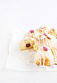 Pull Apart Scone Cake zu Ostern