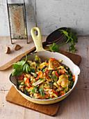 Gemüseschmarrn (Low Carb)