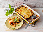 Courgette lasagne (low carb)