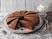 Chocolate cake (low carb)