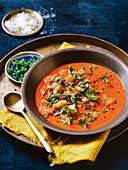 Tomato and capsicum gazpacho