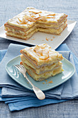 Millefeuille with Pears