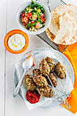 Lamb Kofta with Spicy Tomato Chutney