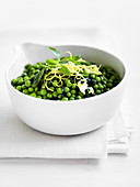 Peas with Mint and Butter
